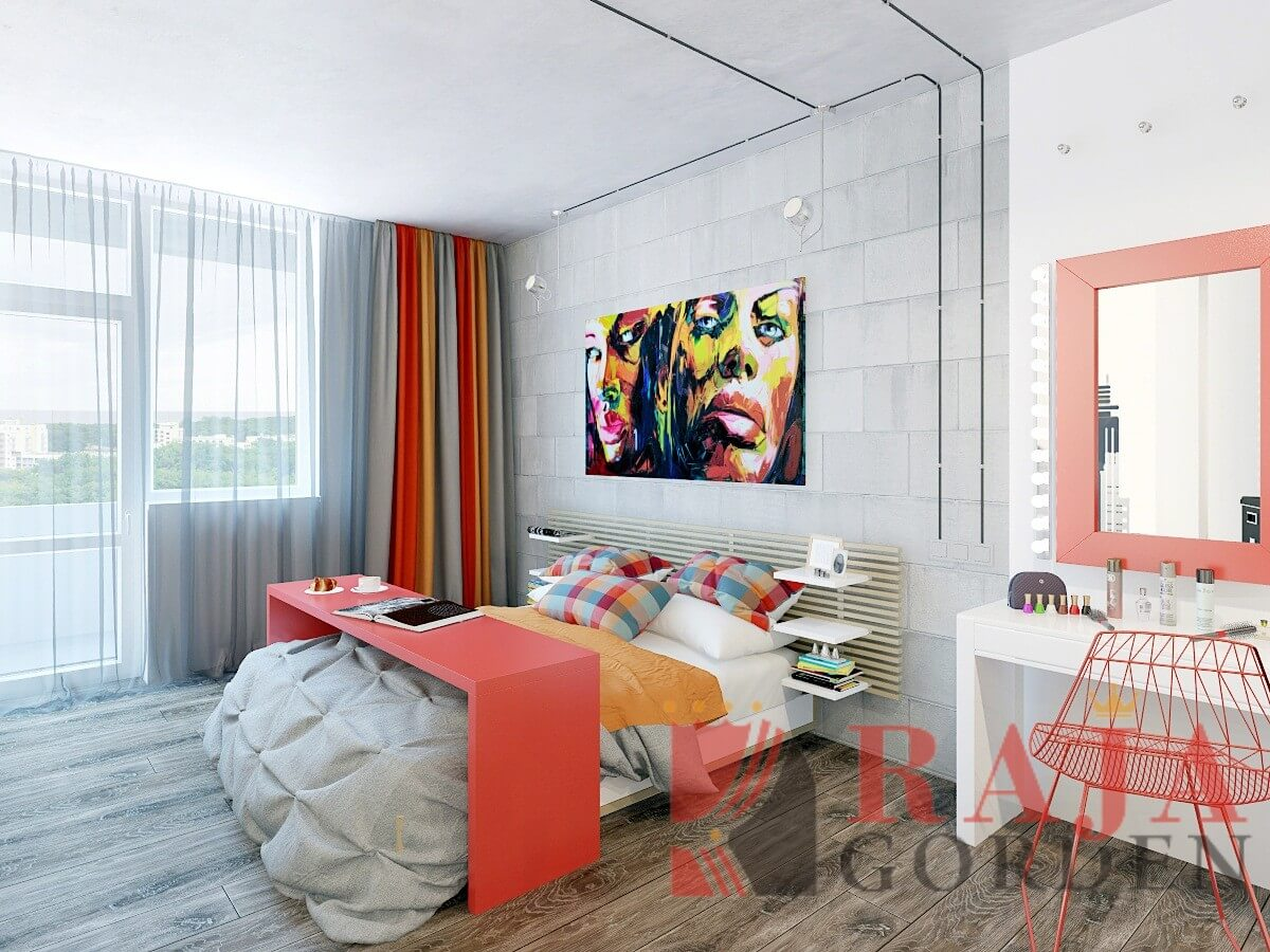 Gorden Minimalis Apartemen