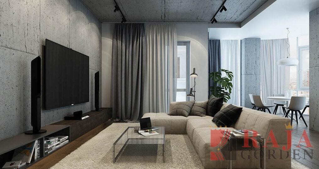 gorden untuk rumah minimalis mewah